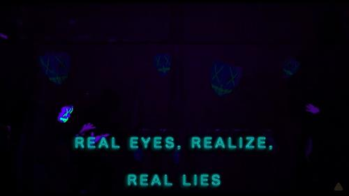 Real eyes, realise, real lies