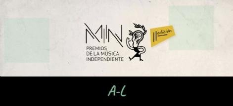 CANDIDATURAS GALEGAS AOS PREMIOS MIN 2019. PARTE I: DO A AO L